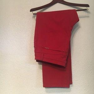 LRL Lauren Jean Co. Ralph Lauren Red Jeans
